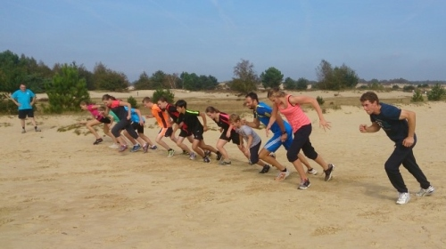 Starttraining in de duinen