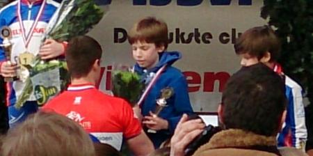 Thomas van Berkel ontvangt de derde prijs