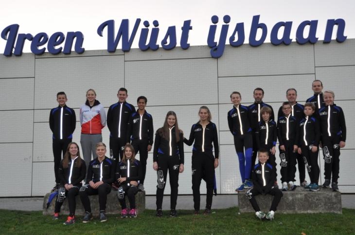"""De nieuwe wedstrijdploeg van """"De Vennen"""" (foto Mariny van Esch)"""