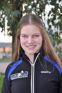 Hilde van Hulten, promotie naar vijfde klasse.