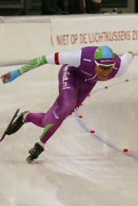 Daidai Ntab, Clubrecord en vierde op het NK (foto Jeroen Happel)