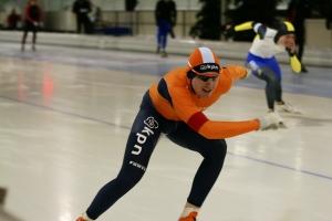 Thomas van Dijk in actie (foto Jeroen Happel)