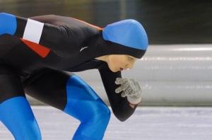 Merel Bertens, zilver bij Afstandskampioenschap 3000 meter (Foto Jeroen Happel)