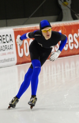 Wouter Weber, weer een PR op de 3000 meter (Foto Jeroen Happel)
